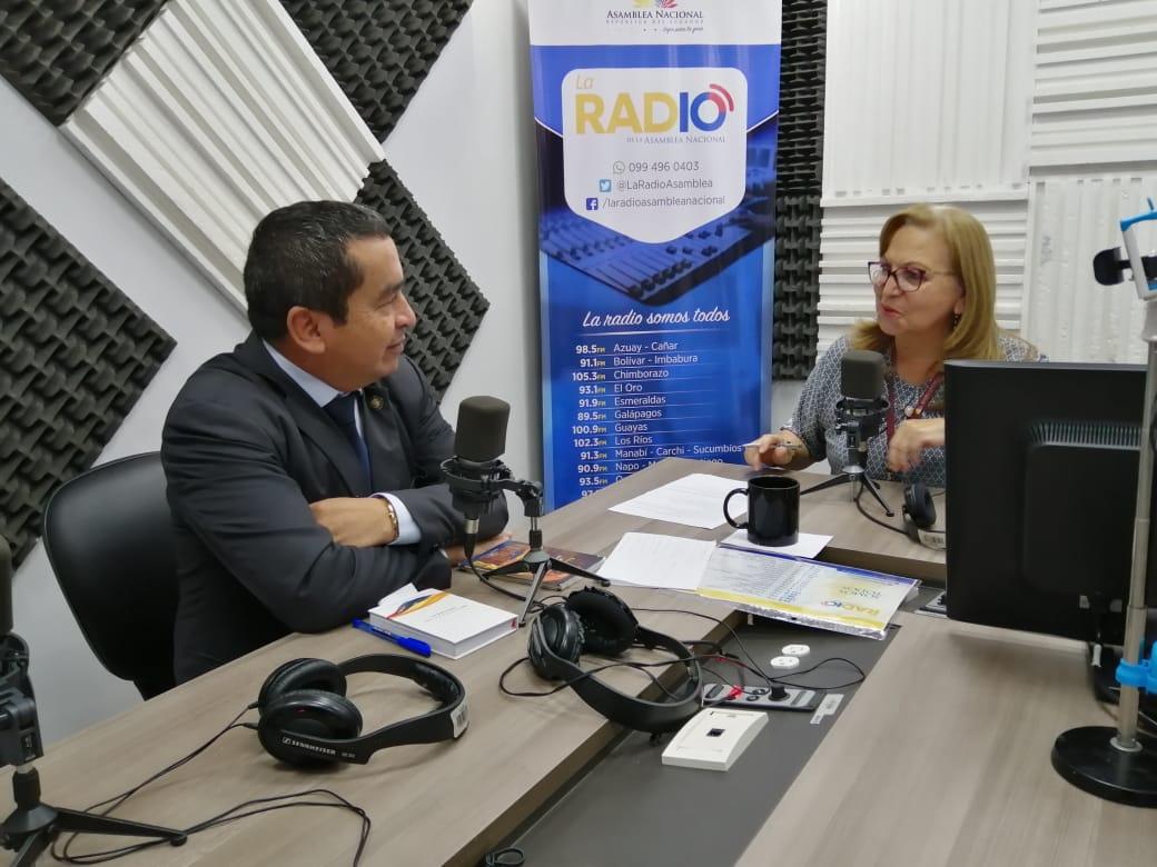 Elio Peña: Reformas a la Ley Orgánica de la Función Legislativa