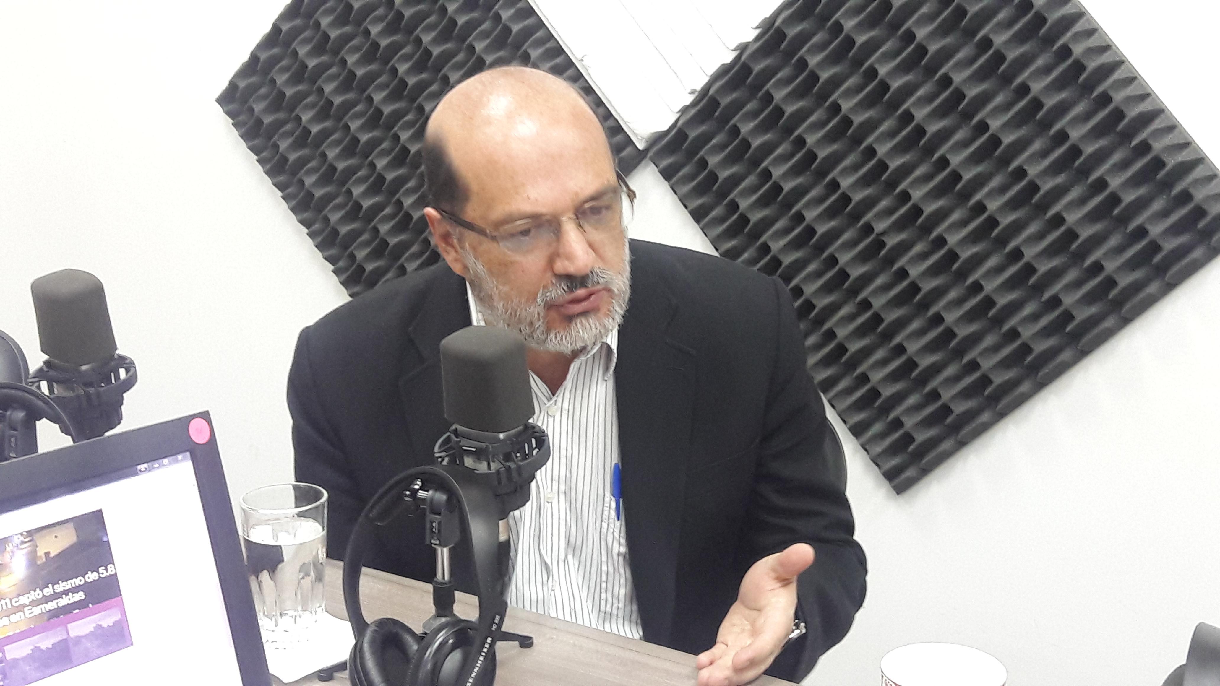"""Carlos Páez: """"La Fiscalía debe investigar a fondo lo de Odebrecht"""""""