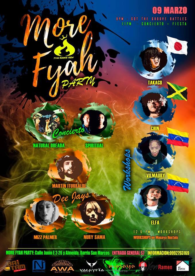 Entrevista More Fyah Party