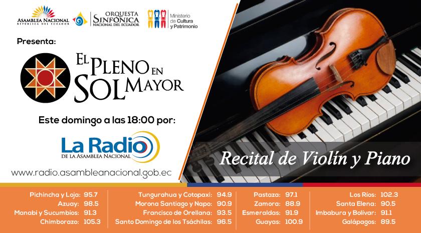 RECITAL DE VIOLÍN Y PIANO II