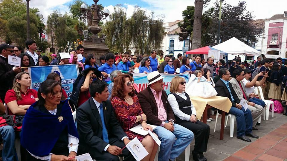 Conmemoración Día Internacional del Migrante en Chimborazo