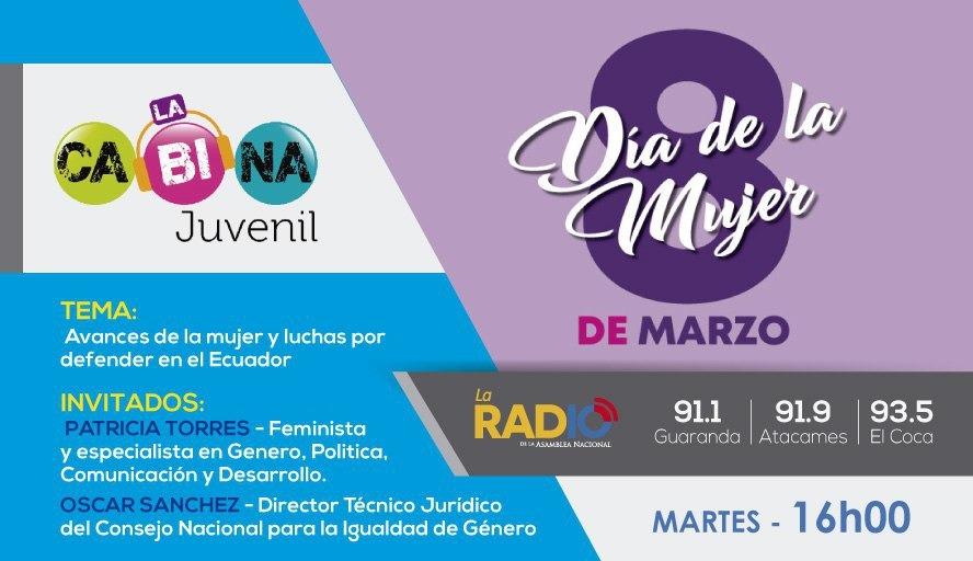 Avances de la mujer y luchas por defender en el Ecuador