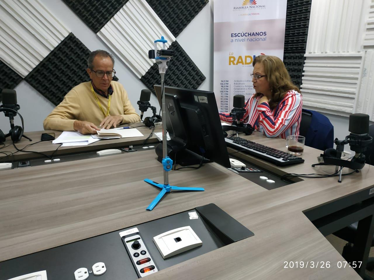 Alberto Acosta: consulta popular en Quimsacocha
