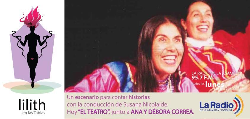 Lilith en las Tablas- Ana y Debora Correa