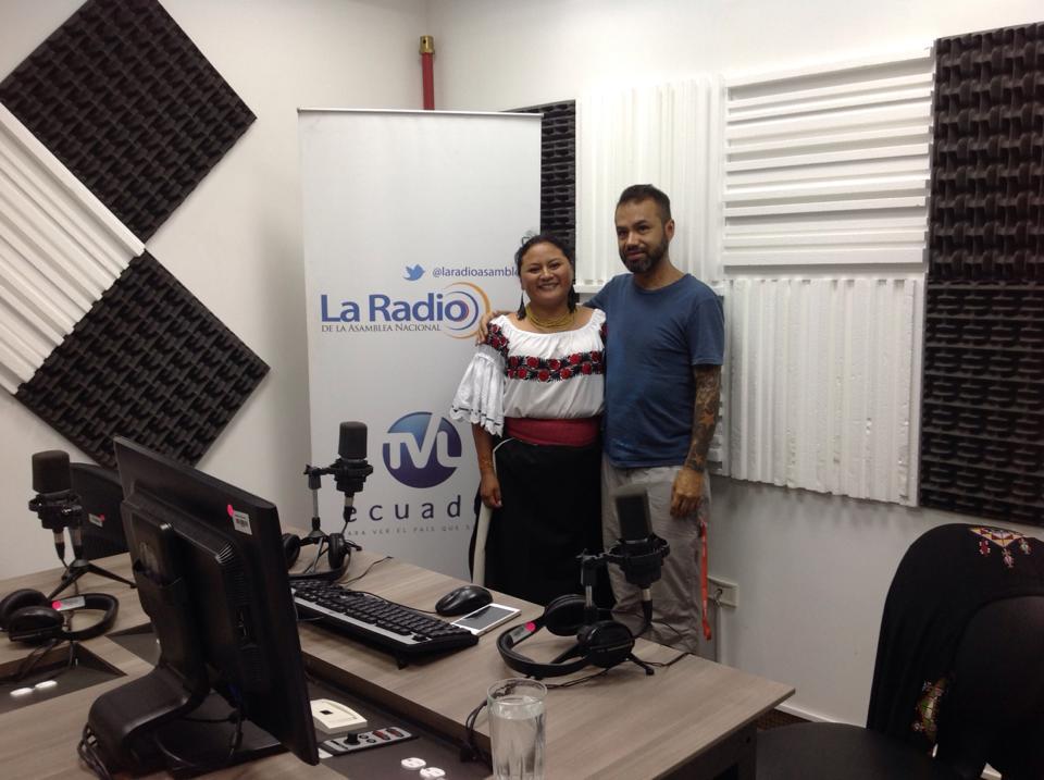 Sinchi Warmi Rimay - Entrevista a Marco Pinteiros - Andes Music Mashine