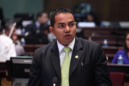 Víctor Medina, integrante de la Comisión de Fiscalización de la Asamblea Nacional