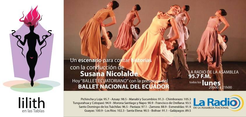 Lilith en las Tablas- Ballet Nacional del Ecuador