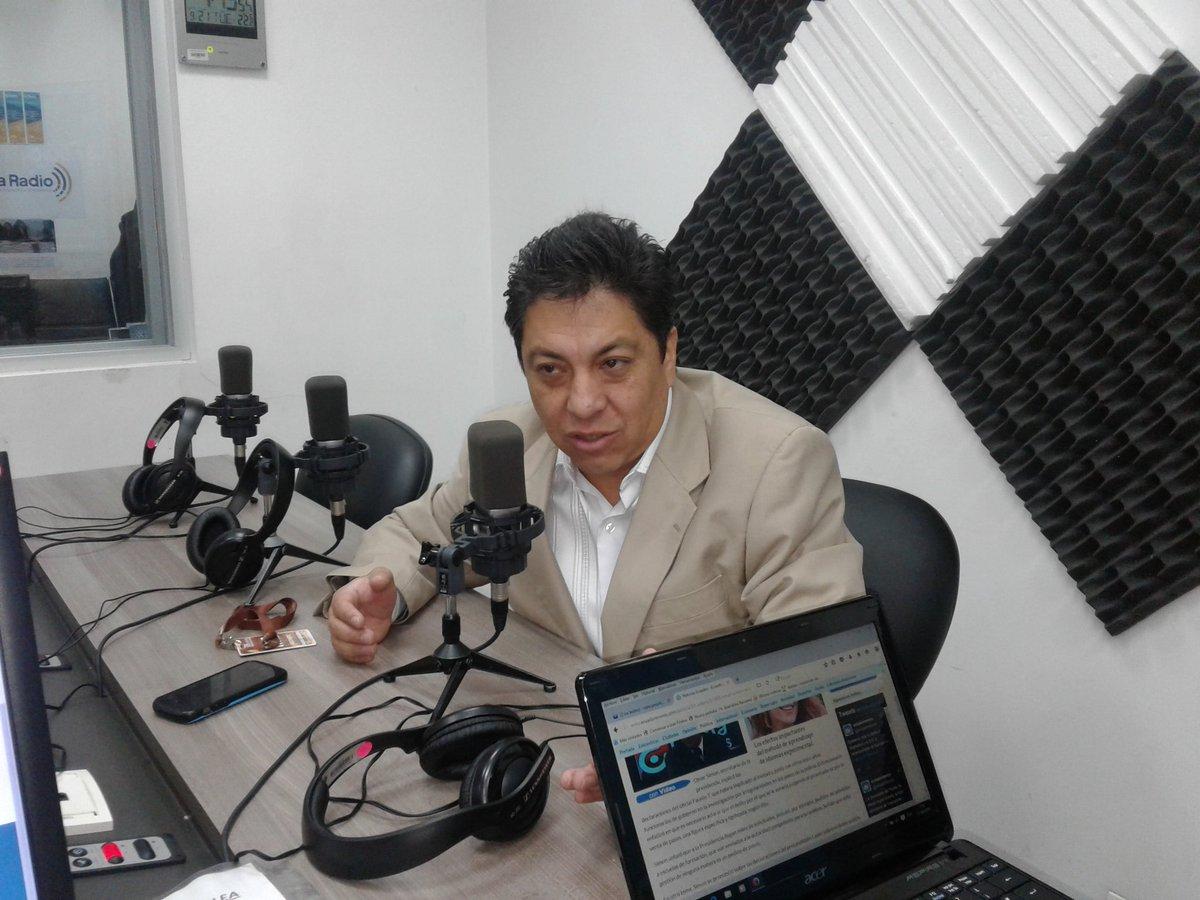Patricio Benalcázar, adjunto de la Defensoría del Pueblo.