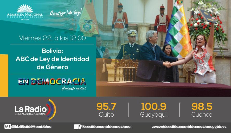 Bolivia: ABC de Ley de Identidad de Género