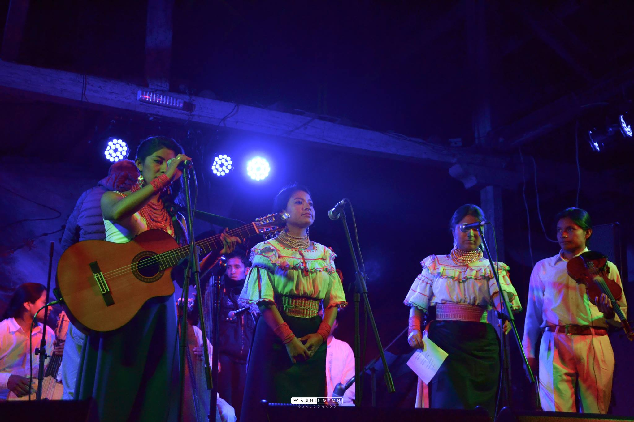 Primer encuentro de cantoras y Cantautoras de América Sinchi Warmikuna