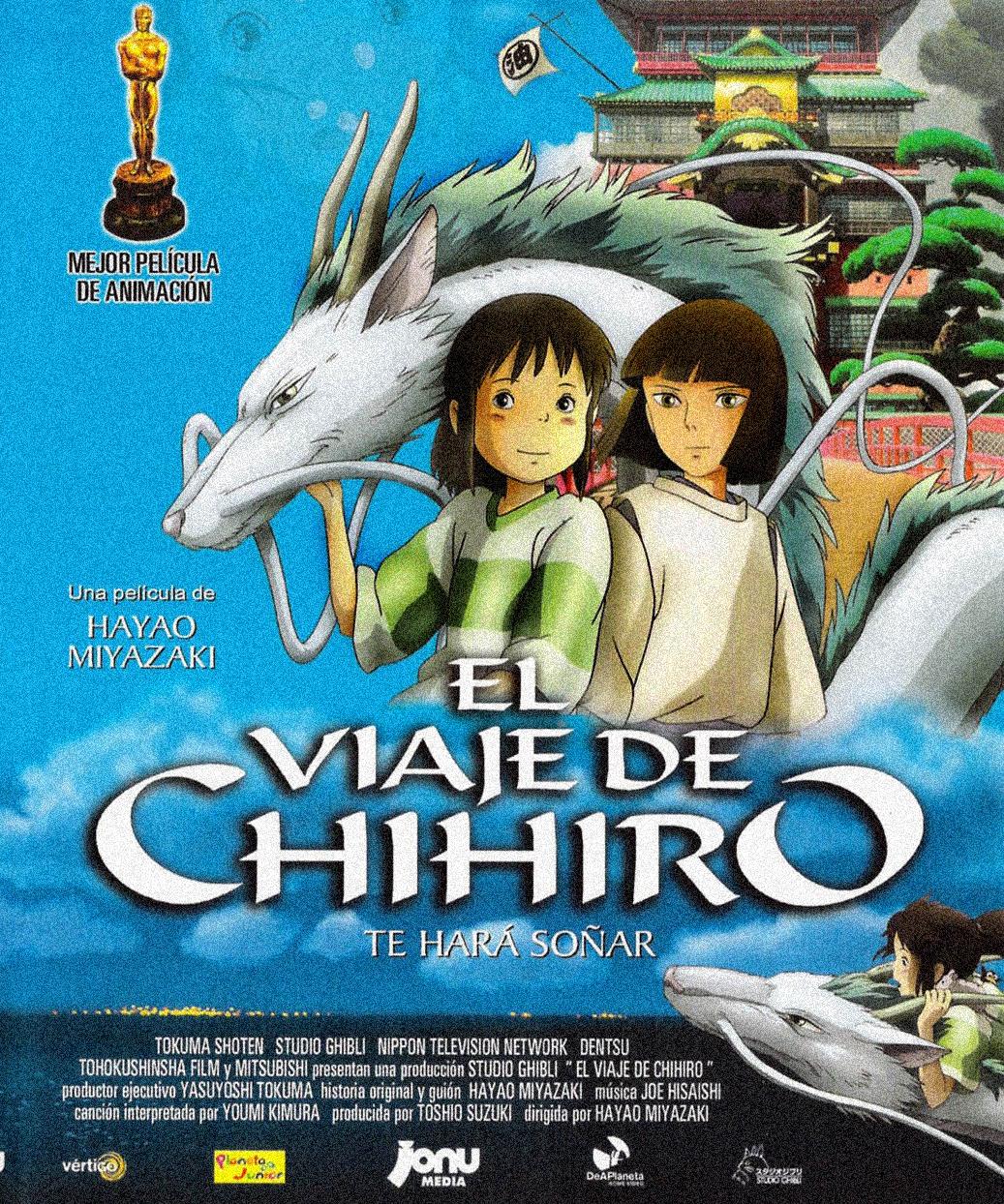 El viaje de Chihiro.