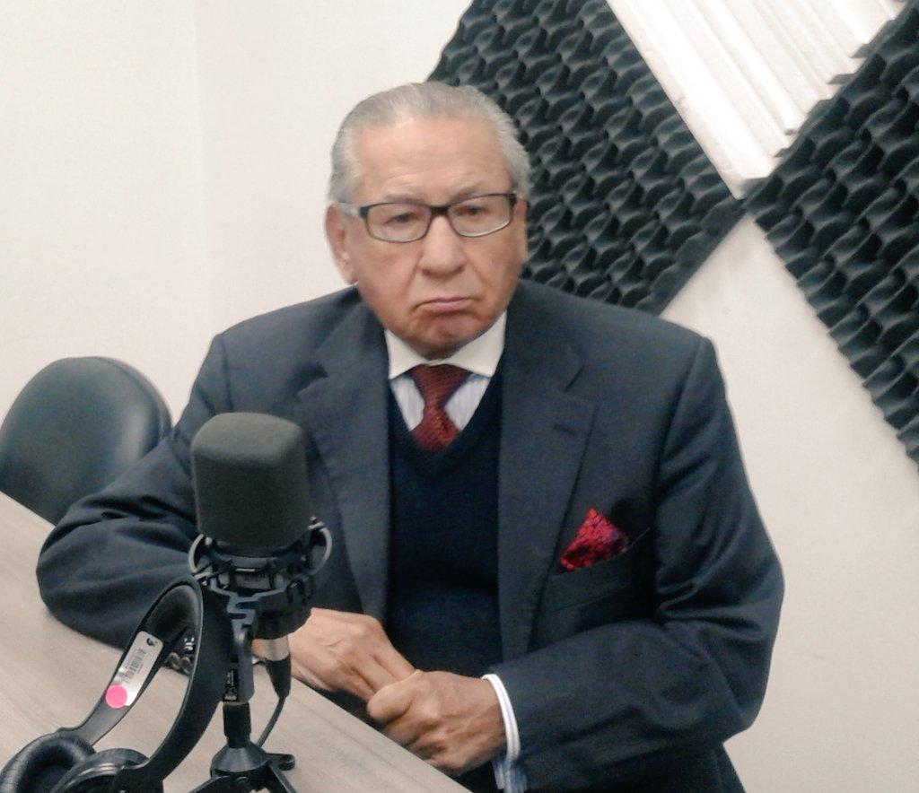 Dr. Gustavo Medina, expresidente de Corte Suprema de Justicia
