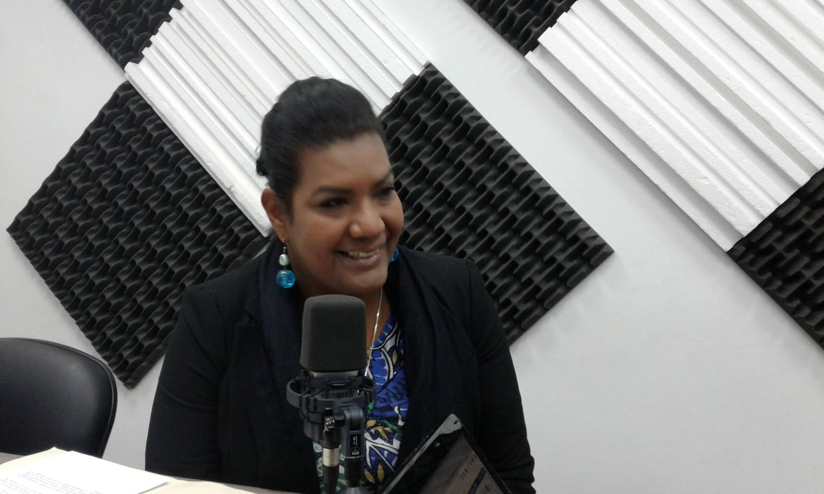 Katiuska López,dirirectora Nacional de voluntariado  de Gestión de la Política