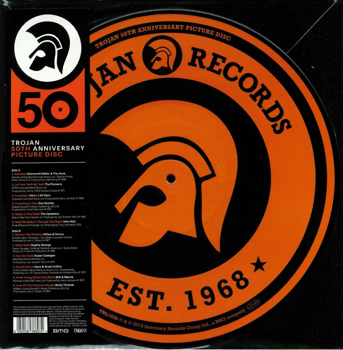 Trojan Records aniversario 50