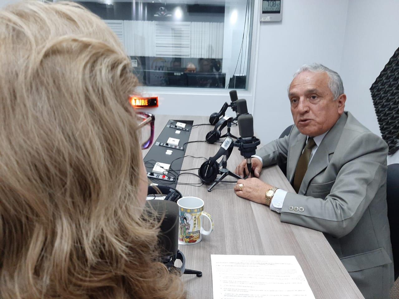Fernando Pazmiño: Cronograma de repavimentación vial en Quito.
