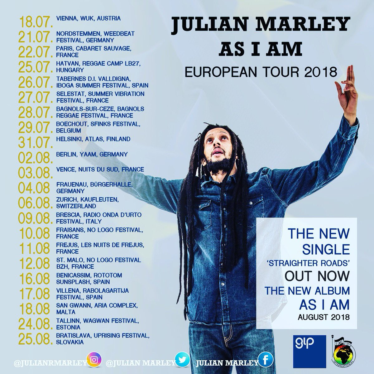 Julian Marley álbum As I Am