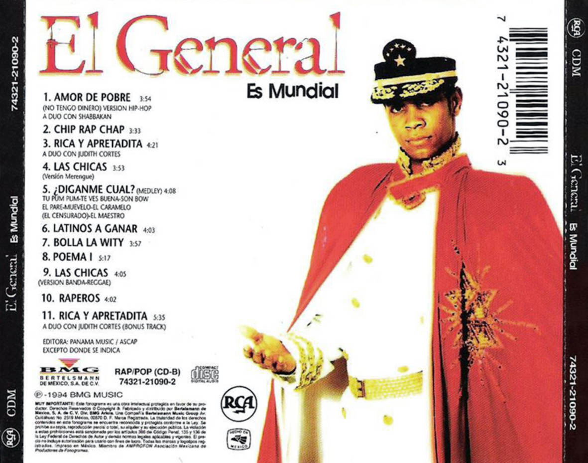 Jamaican Roots - Especial El General