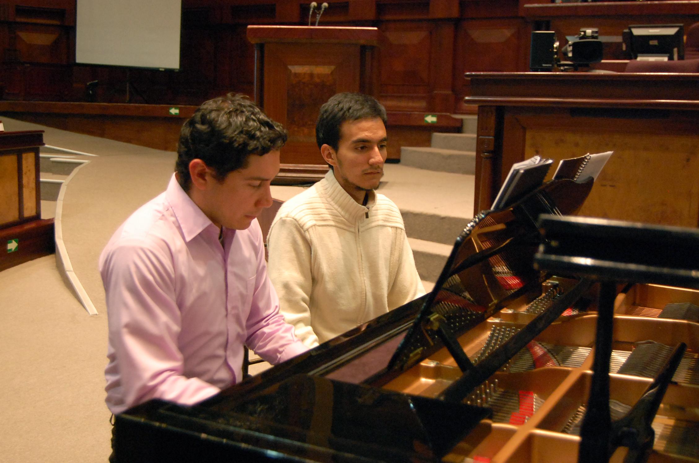 Recital de fagot, violín y piano