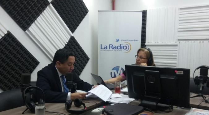 """Cristian Coronel Gerente General del Centro de Educación Continua """" CEC-IAEN."""