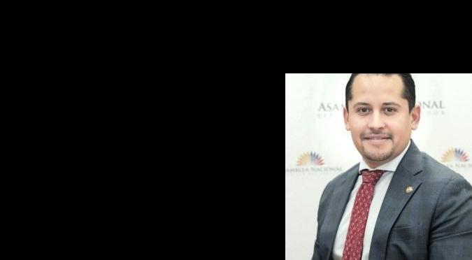 Esteban Melo, asambleísta por la circunscripción de Europa, Asia y Oceanía.