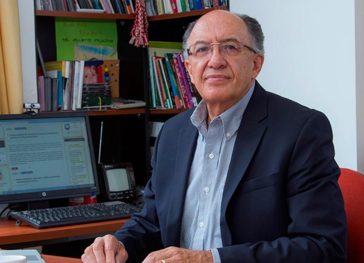 Rector encargado de la Universidad Andina Jaime Breilh