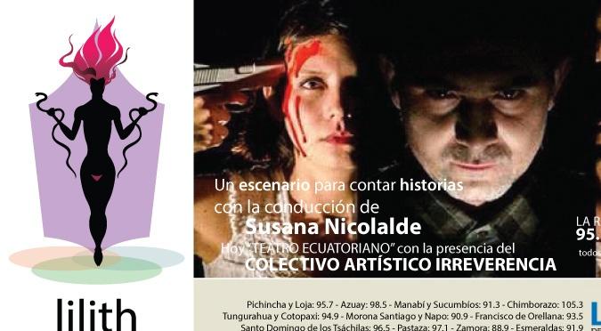 Lilith en las Tablas- Colectivo Irreverencia Gabriela Ruiz