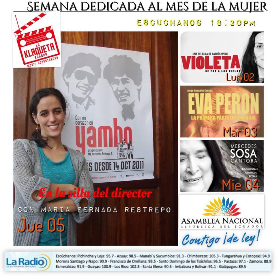Resumen de la semana: Violeta se fue a los cielos, Evita, Cantora, Entrevista con Fer