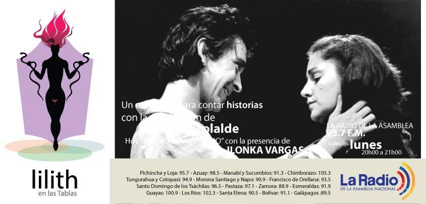 Lilith en las Tablas- Ilonka Vargas 1era parte