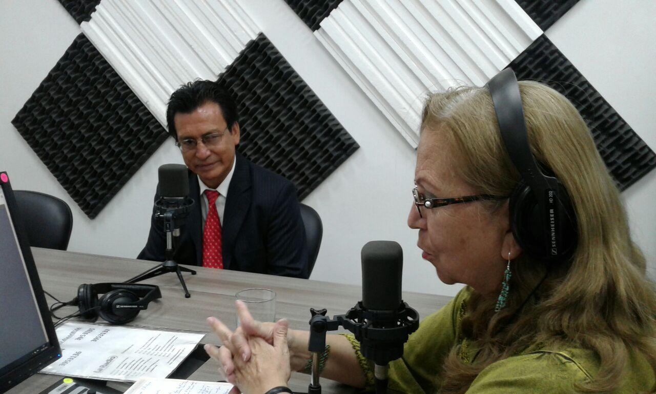 Luis Mosquera, presidente de la junta parroquial de Púellaro