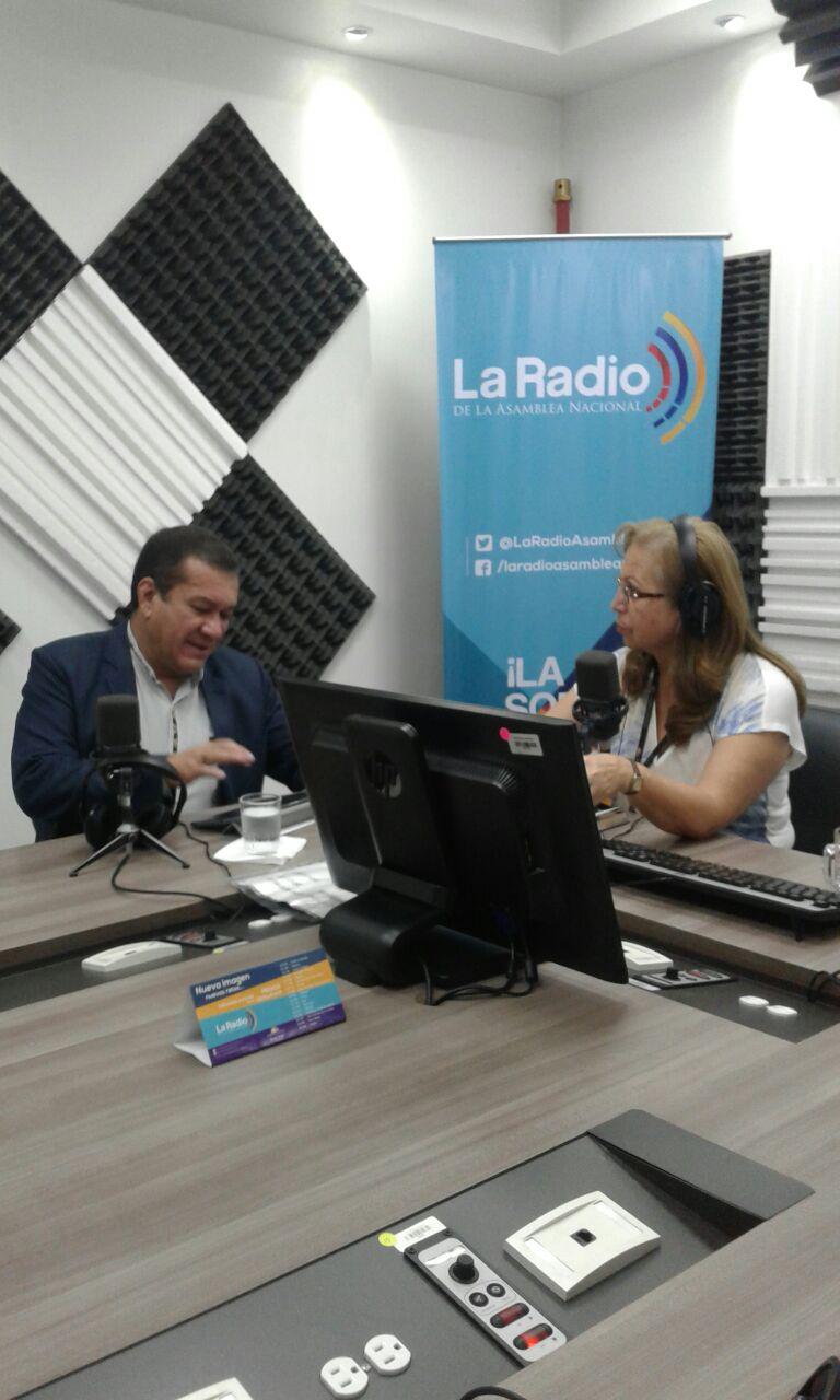 Alexis Sánchez Miño, secretario  Nacional del Agua