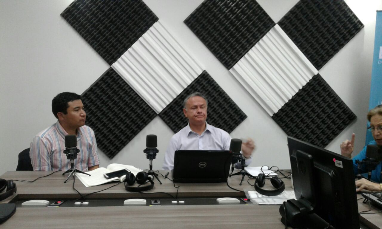 """Roberto Muñoz y Patricio Orbe, representantes del colectivo """"Padres y Justicia"""