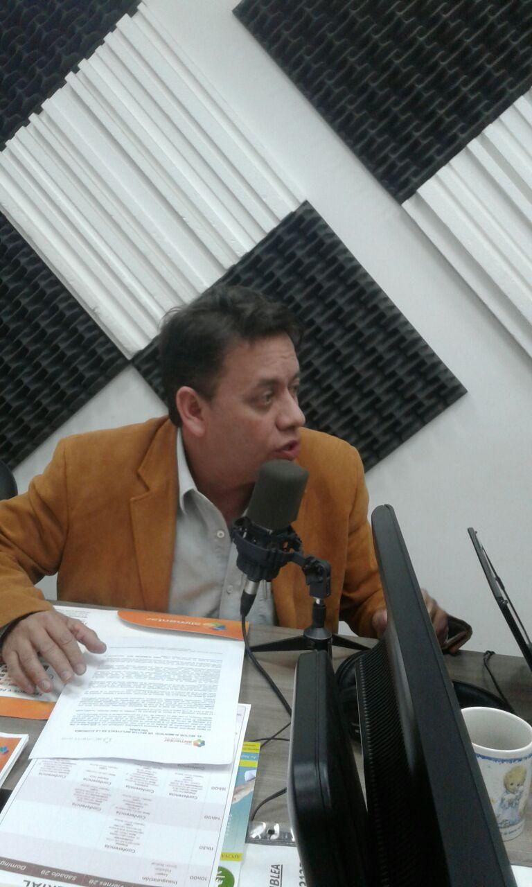 Guillermo Baez representante de la Cámara de la Pequeña Mediana Empresa de Pichincha