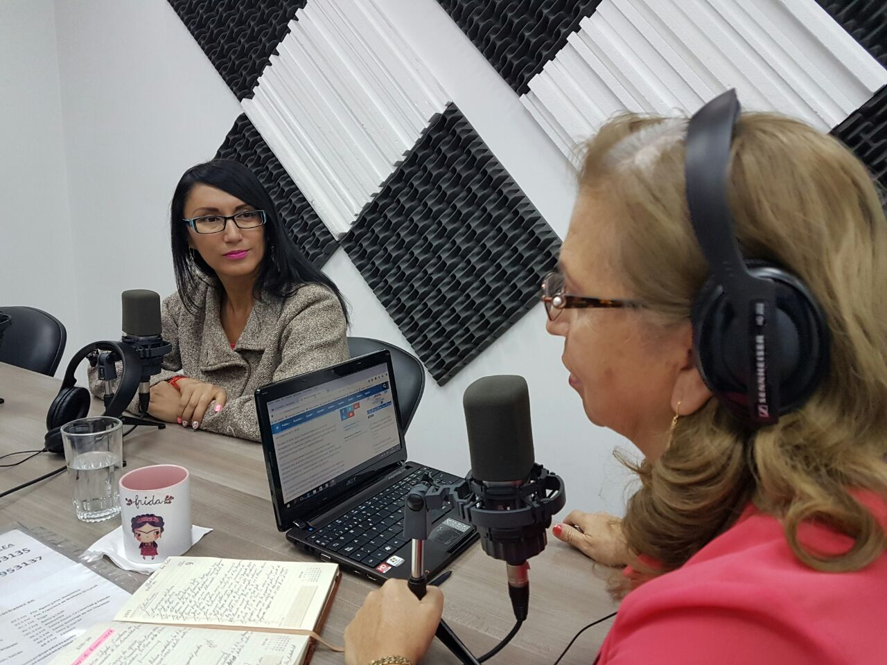 """Verónica Salgado: """"Desde hoy presentamos la nueva franja de opinión"""""""