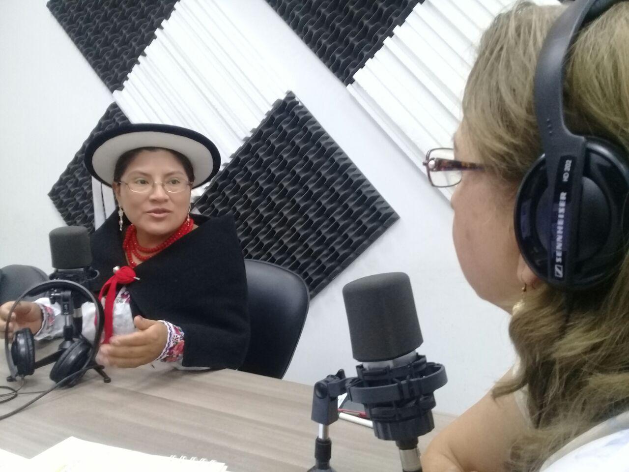 Voces en Acción - Encarnación Duchi: Amnistía a  Manuel Pichizaca Pinguil