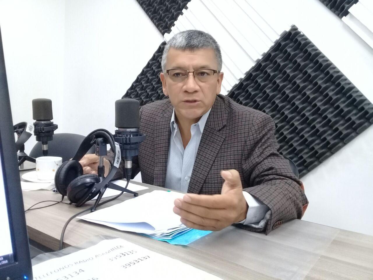 Eddy Sánchez: Situación del alcalde de Quito.