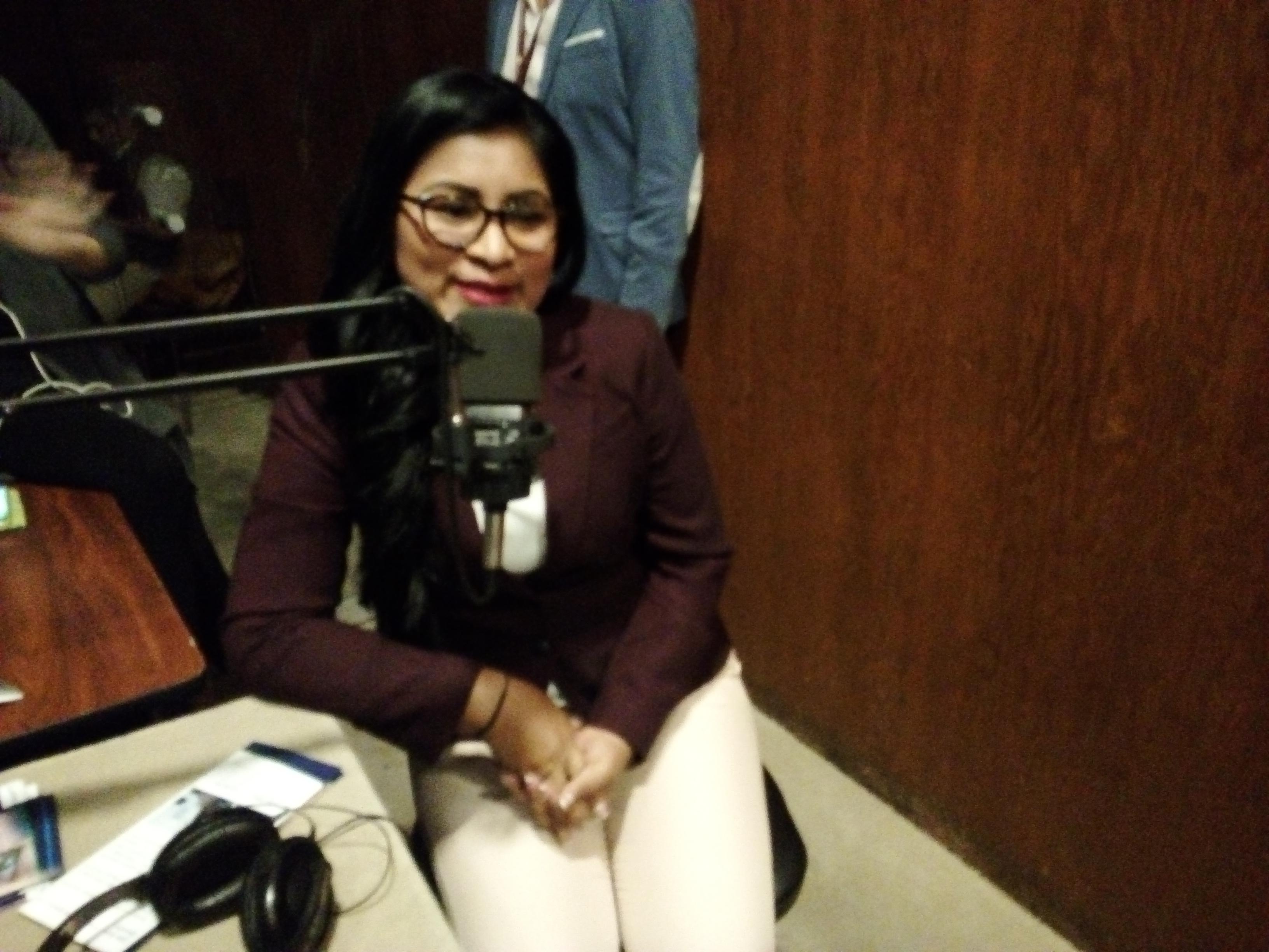 Gabriela Cerda: La más joven en el Legislativo