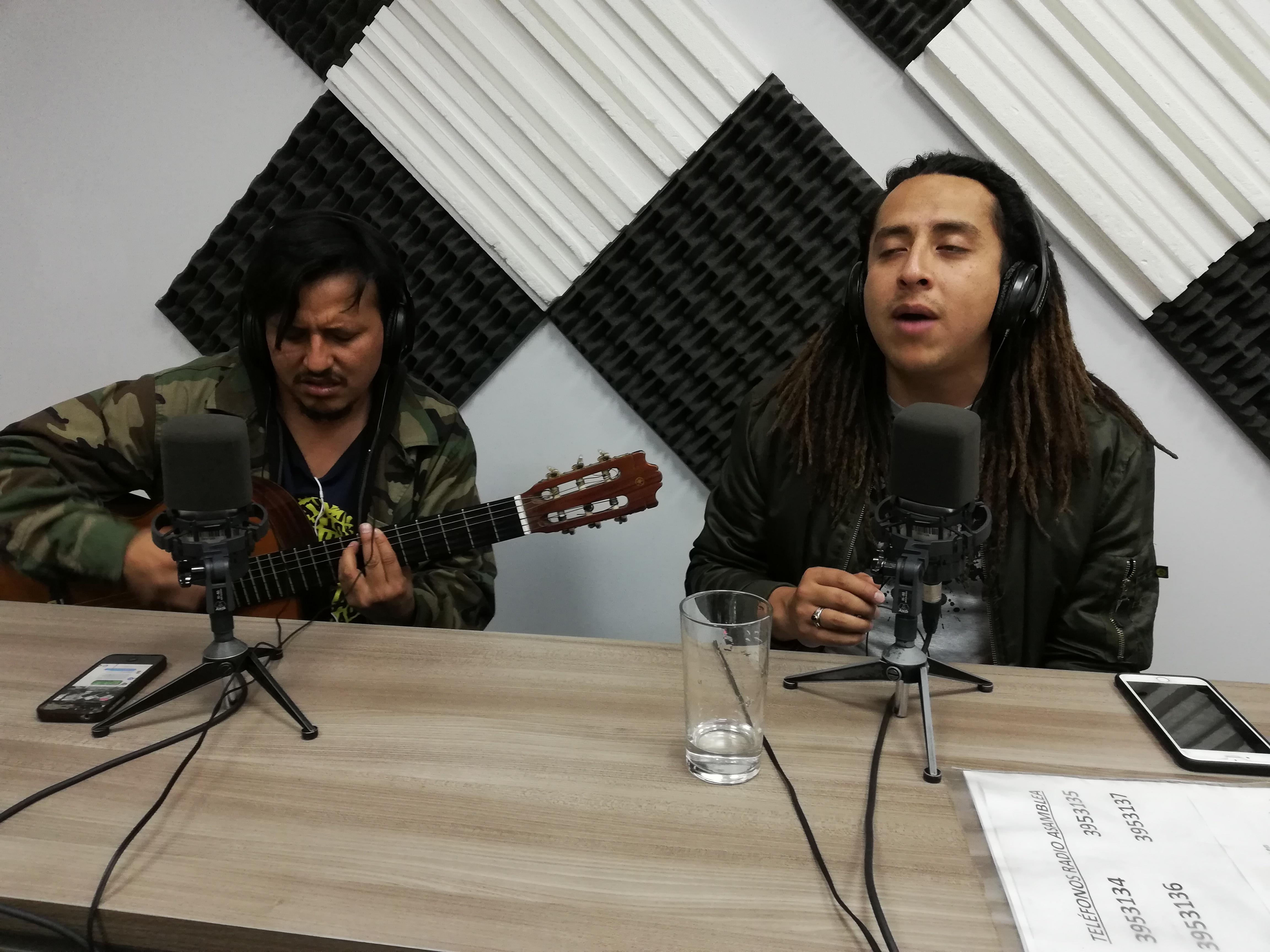 Entrevista a Gabriel Arce y Cielo Verde