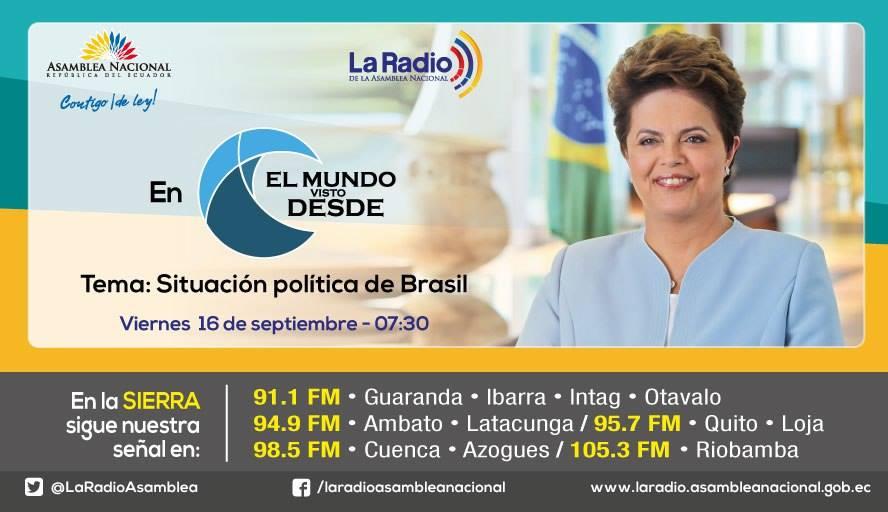 Situación política de Brasil