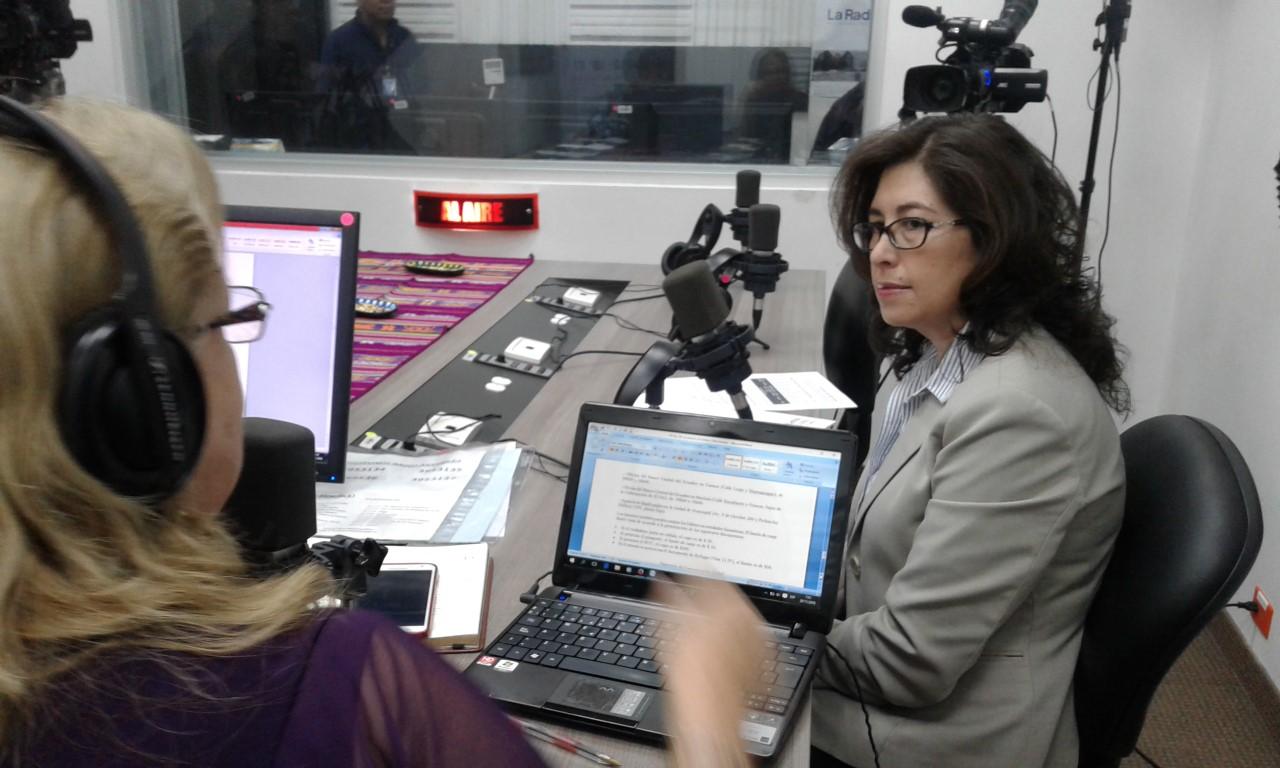 """Janeth Maldonado: """"El BCE sigue cambiando billetes deteriorados"""""""