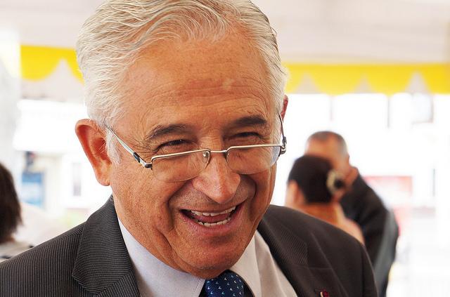José Bolívar Castillo, alcalde de Loja /Leonardo Anselmi Fundación