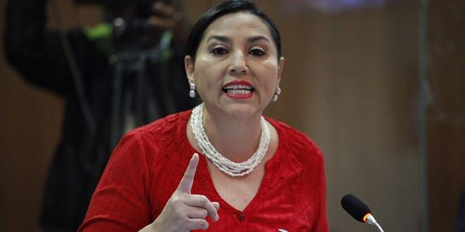 Marisol Peñafiel, integrante de la Comisión de Justicia y Estructura del Estado