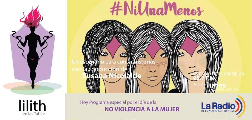 Lilith en las tablas-Especial por el día de la no violencia a la mujer