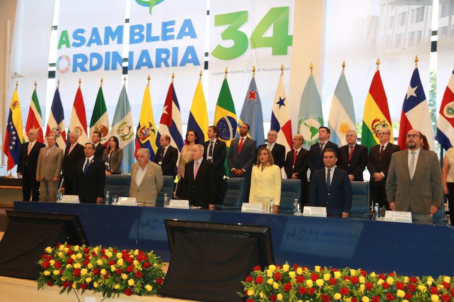 Parlatino, XXXIV Asamblea Ordinaria