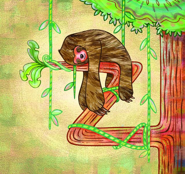 ¡Auxilio! un mono en apuros