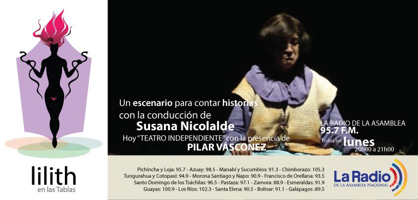 Lilith en las Tablas- Pilar Vasconez