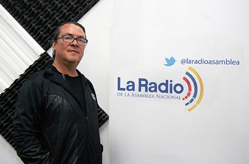 La novela ecuatoriana con Raul Serrano Sánchez