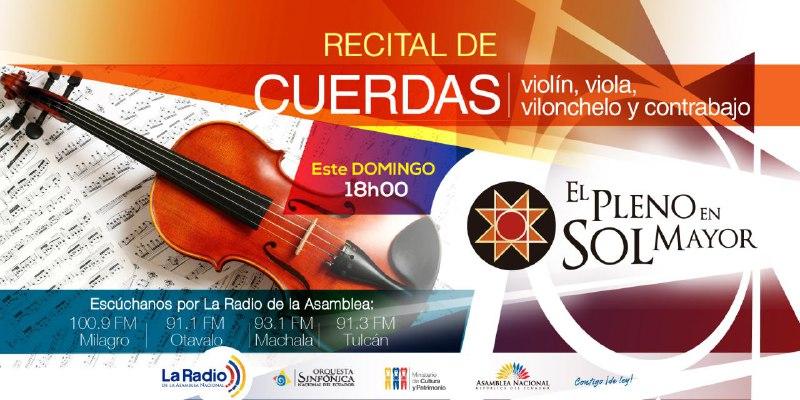Recital de Cuerdas III