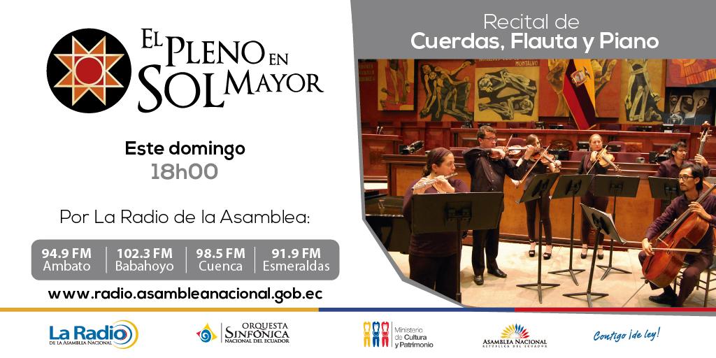 Recital de Cuerdas, Flauta y Piano