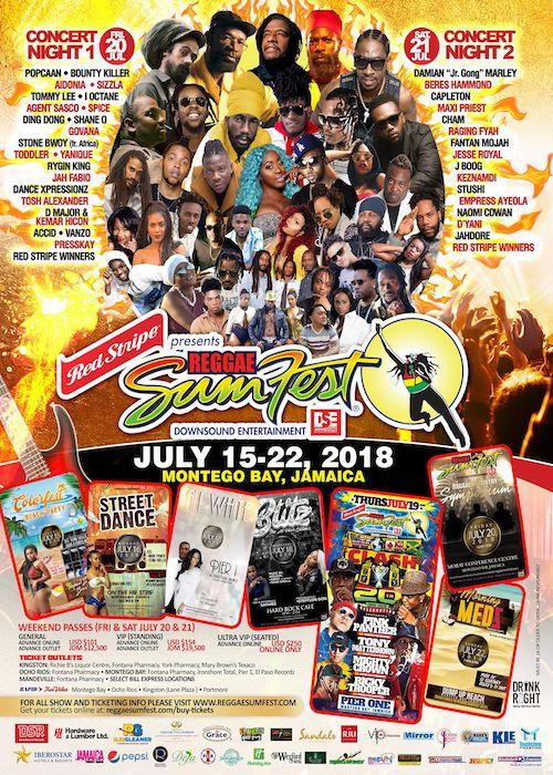 Reggae SumFest 2018 II