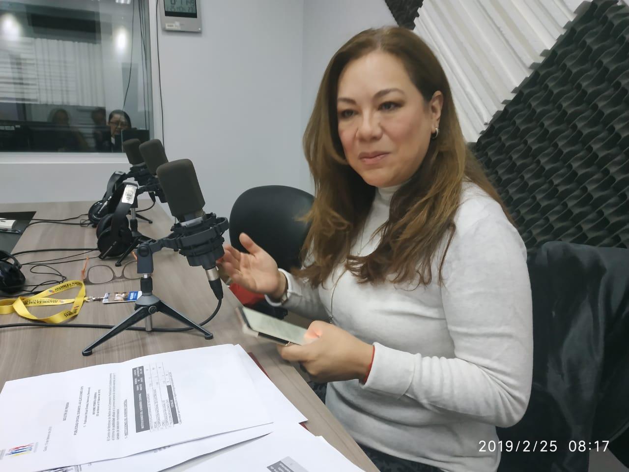 Ruth Hidalgo: violencia política contra la mujer